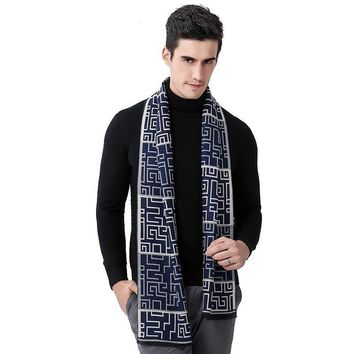 Plaid Men Scarf Luxury Brand Wool Autumn Winter Scarves for Male bandana High Quality poncho Retro Cashmere Scarf shawl