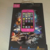 OEM Lifeproof Case for iPhone 5 PINK Brand New! USA Seller California!