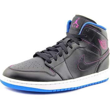 NIKE air Jordan 1 mid Mens Trainers 554724 Sneakers Shoes