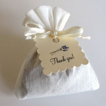 French Lavender Sachet Party Favors Set of 12
