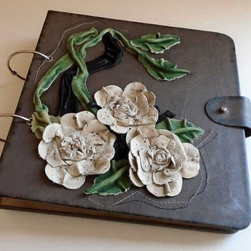 Leather photo album, Wedding album, Baby photos album, birthday photo album, memories, embossed picture album, photo album, luxury notebook