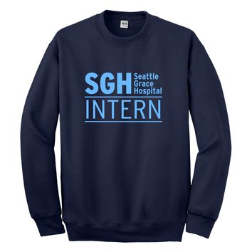 Crewneck Intern Seattle Grace Hospital Unisex Sweatshirt