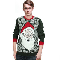 Santa Claus Knit Pullover Sweater