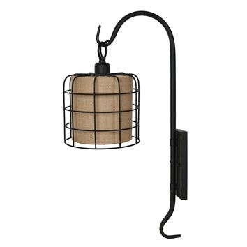 Shepard Hook Wall Sconce -- 27-in