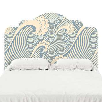 Waves of Chic Headboard Decal