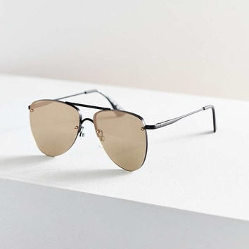 Le Specs The Prince Aviator Sunglasses | Urban Outfitters