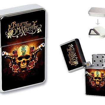 New Bullet for My Valentine Music Band Flip Top Lighter + Gift Box
