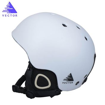 VECTOR New Ski Helmet Men Women Children Snowboard Helmet PC+EPS Ultralight High Quality Snow Skating Skateboard Skiing Helmet