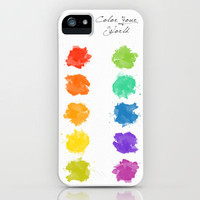 Color Your World iPhone Case by Stacia Elizabeth | Society6