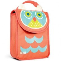 Built Big Apple Buddies Lunch Sack Bag (Owl)