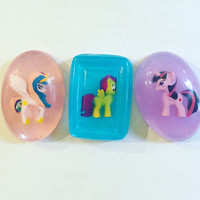 My Little Pony Soap, MLP Party Favors, Novelty Glycerin Soap, Pony Soap, Friendship is Magic Soap, Gifts for Girls, Pony Collectibles