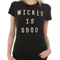 The Maze Runner Wicked Is Good Girls T-Shirt