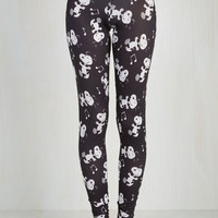 90s Skinny Hang On Snoopy Leggings