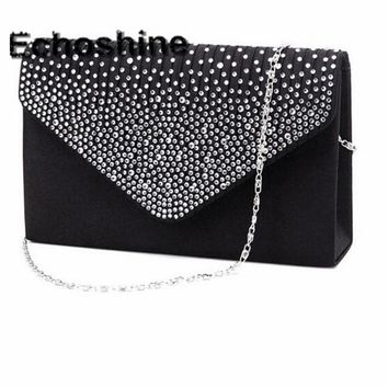 Excellent Quality 2016 NEW Ladies Evening Party Small Clutch Bag Eveningbag Bridal Purse Handbag Bolsas Feminina A1000