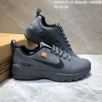 DCCK N629 NIKE AIR MAX 95 UL17 x OFF-WHITET Leather Sports Casual Sneaker Grey Black