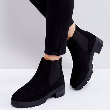 Truffle Collection Chunky Sole Chelsea Boots at asos.com