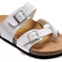 Birkenstock Mayari Sandals Leather White - Ready Stock