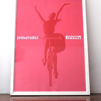 Massimo Vignelli Poster for Pirelli Tires (1961)
