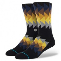 Stance | Bracket Brown, Navy, Black, Orange, Yellow socks | Buy at the Official website Main Website.