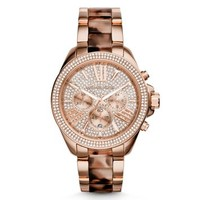 Wren Rose Gold-Tone Acetate Watch | Michael Kors