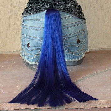 Princess Luna My Little Pony tail - clip on costume cosplay - my little pony - friendship is magic / season 2