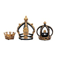 91-0013 Set of 3 Crowns