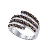 Diamond Fashion Ring in Sterling Silver 1 ctw