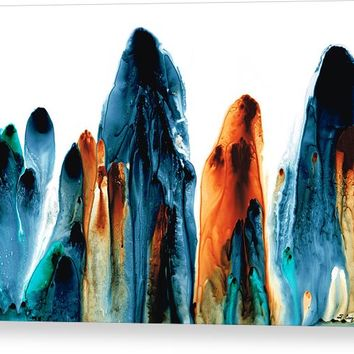 The Chosen Ones - Emotive Abstract Painting Acrylic Print