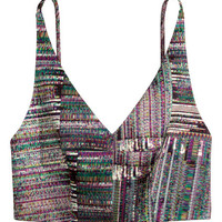 H&M Patterned Bustier $39.99