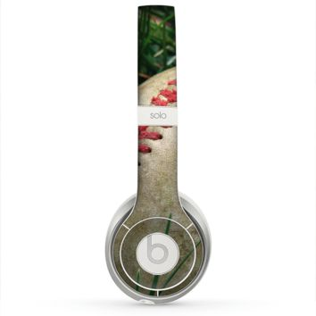 The Grunge Worn Baseball Skin for the Beats by Dre Solo 2 Headphones