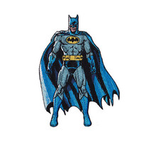 Batman Standing Embroidered Iron-On Patch