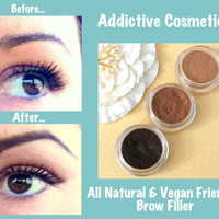 100% All Natural, Vegan Friendly Eyebrow Filler- Don't neglect your Brows