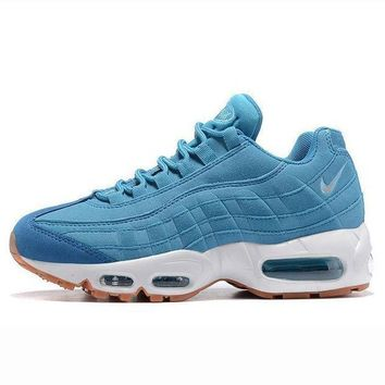 ... pretty cheap 9c7e0 422d4 Nike Air Max 95 treading Man sports shoes  sneaker Light blue ... be857099b8