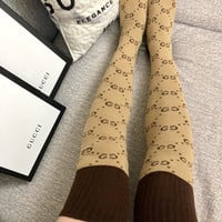 GUCCI GG over-the-knee socks