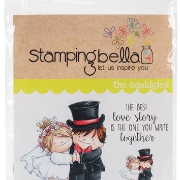 Stamping Bella Cling Stamps-Love Story Squidgy