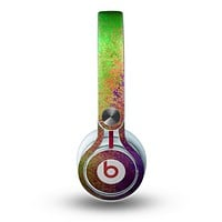The Vivid Neon Colored Texture Skin for the Beats by Dre Mixr Headphones