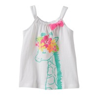 Jumping Beans Glitter Bow Tank - Baby