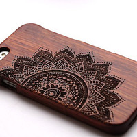 iPhone 6/6 Plus Wooden Case Real Wood iPhone 5/5S Case Natural Wood Samsung Galaxy S5/Note3/Note4 Case