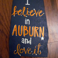 Collegiate Auburn University Sign