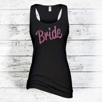 Plus Size Bride Tank Top - Wedding & Bride Clothes - Plus Size Bride Shirt- Bridal Tanktop