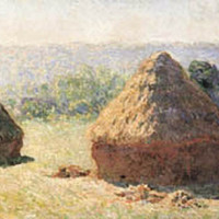 Haystacks Poster by Monet