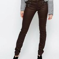 Only | Only Olivia Coated Skinny Jeans at ASOS
