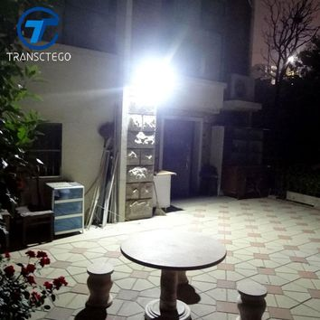 TRANSCTEGO Solar Light 38 LED Outdoor Waterproof Garden Led Solar Powered Lights Battery Lamps Motion Sensor Light Wall Lamp