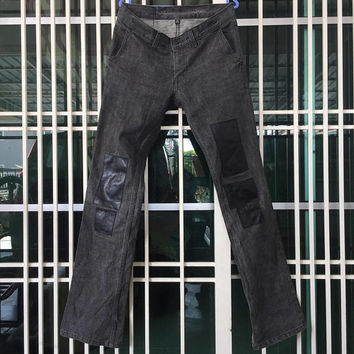 THE LAD MUSICIAN Jeans Patchwork Style / japanese brand / Slim Fit Cutting