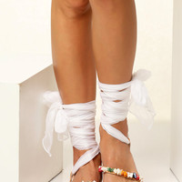 """Beach Wedding sandals, Bridal flats, Luxurious flat sandals with silk laces , Customizable  """"Alkyone"""" NEW SS17 - Free standard shipping"""