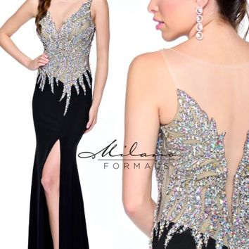 Milano Formals E1717 Dress - NewYorkDress.com