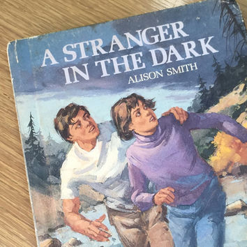 "Vintage 1980's Young Adult Book for teen girls ""A Stranger in the Dark"""