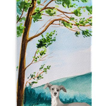 Under the Tree Italian Greyhound Michelob Ultra Hugger for slim cans CK2009MUK