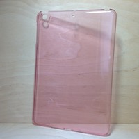 For Apple iPad Mini 2 / 3 Transparent Pink Back Cover