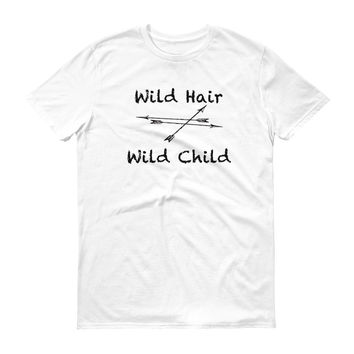 Wild Hair Wild Child Mens Short sleeve t-shirt